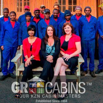 Gr Cabins Team Photo