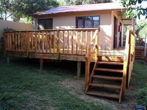 Cabin-Veranda-Deck-Stairs-with-Handrail-300×225