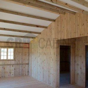 2 Bedroom Cottage 63sqm Interior