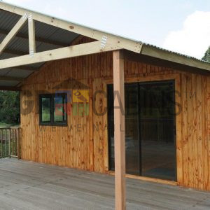 6m X 6m X 2.4m Wh Cabin In Nature Reserve Onto Clients Deck At Water Hole