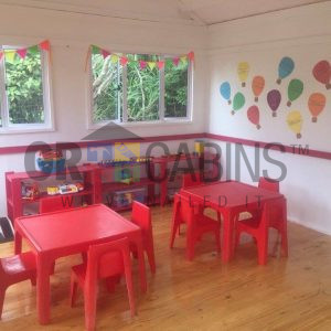 Classroom 4m X 8m X 2.4m Wh Interior Painting And Decor By Client