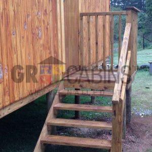 Eshowe Hostel External Landing Steps And Handrail