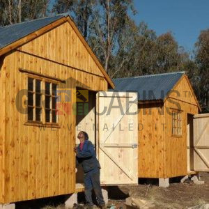 Finishing Touches Done On 5 Cabins Maunfactured And Installed In Harrismith Within Two Days, Fantastic Efforts Made By Manufacturing Installation Teams