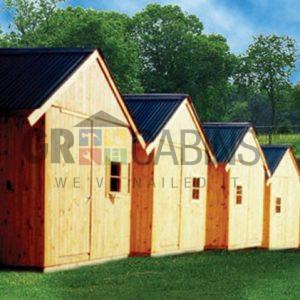Flea Market 3m X 3m Cabins