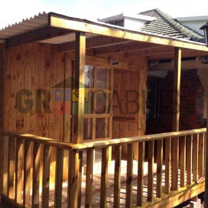 Front View Of Home Extension 3m X 10m X 2.1m Wh Plus Veranda With Lean To Roof