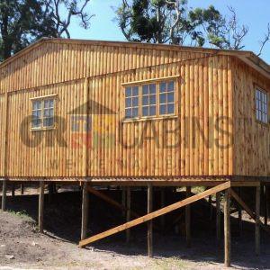 Game Lodge Umhlali 2 Bedroom Cottage 74sqm Bevel Profile Side View