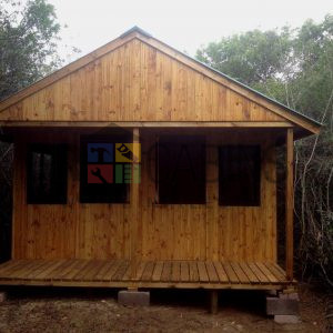 Hluhluwe 2 Man Bush Camp With Stable Doors And Aluminium Windows