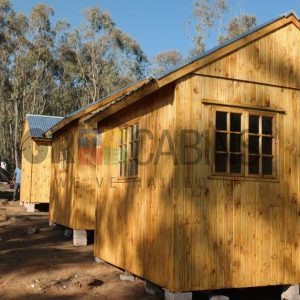 Installation Of 5 Cabins Completed In Harrismith In One Day, Well Done GR Team