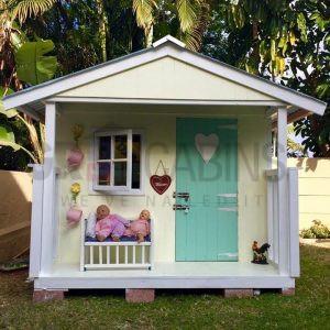 Kids Wendy House 2.0m X 2.0m X 1.5m Wh Plus 0.6m Veranda Painted By Client