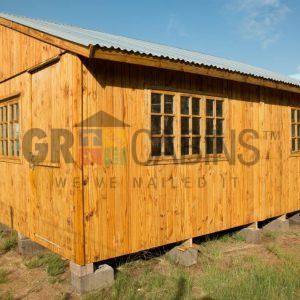 Makabongwe School Classroom 6m X 6m X 2.1m Wh Front View