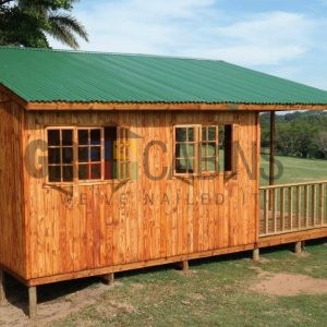 Umhlali Country Club Customised Cabin Side View